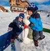 neige enfants rosière