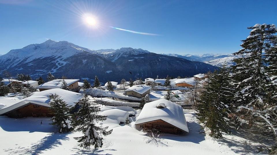 vue Tyrol Hiver